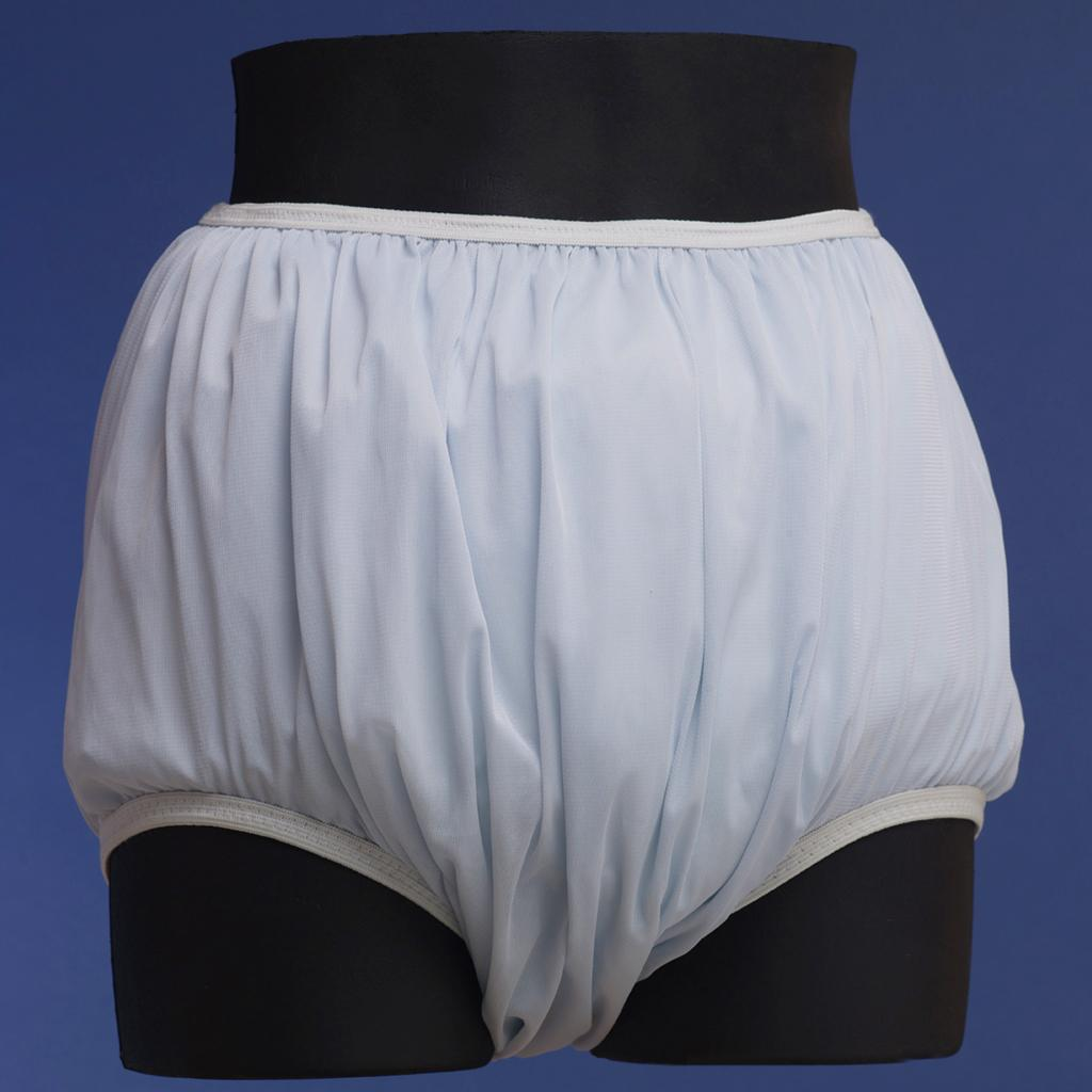 Discreet Nylon Covered Plastic Pants For Cloth Diapers Dis