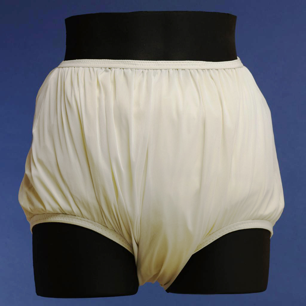 Discreet Nylon Covered Plastic Pants for Cloth Diapers