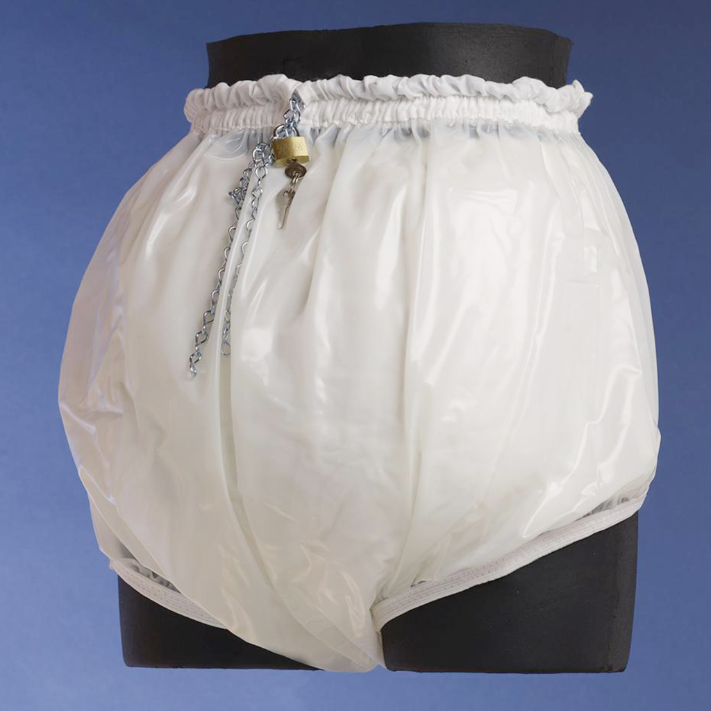 Locking Adult Plastic Diaper Pants