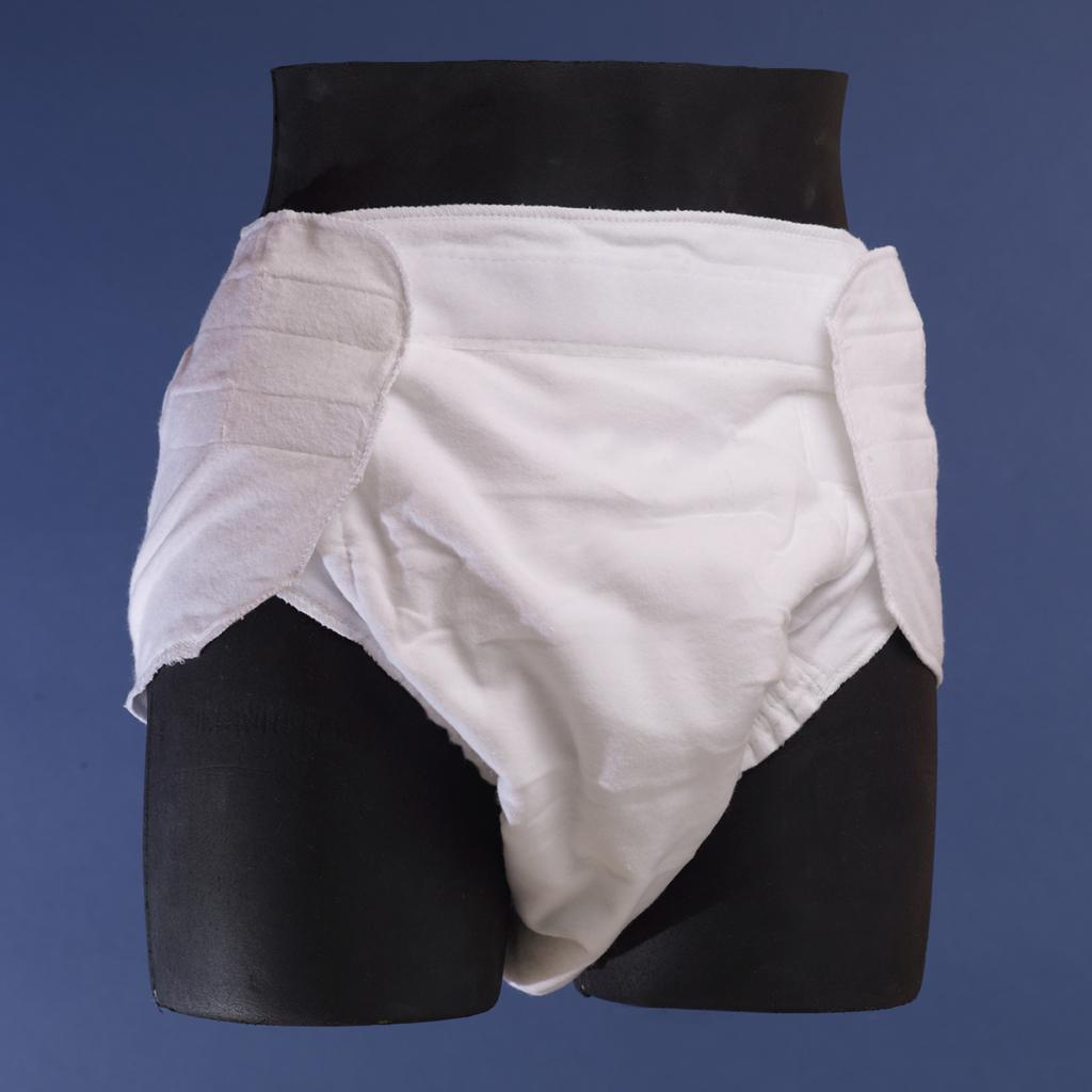 Velcro Closure 100% Cotton Contour Diaper