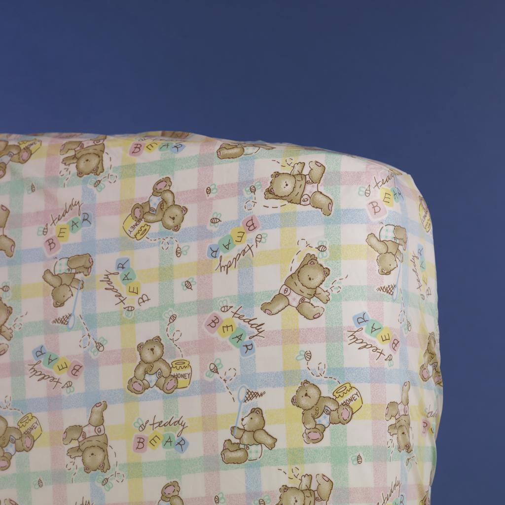 Honey Bears Print Mattress Cover